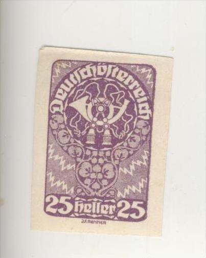 Deutschösterreich v. ca. 1910   25,30,60 Heller   (219-21)