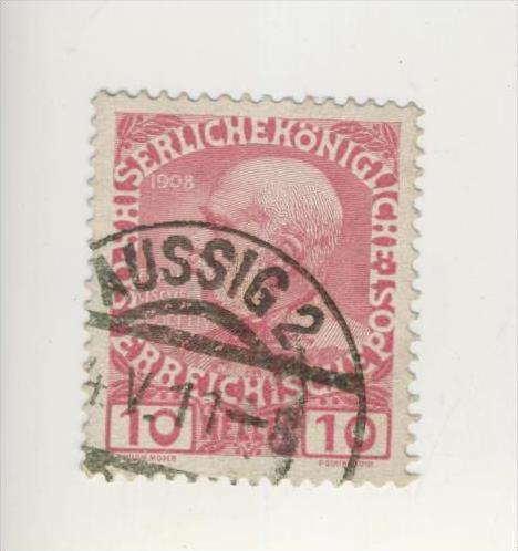 Österreich v. 1908   10 Heller    (237)