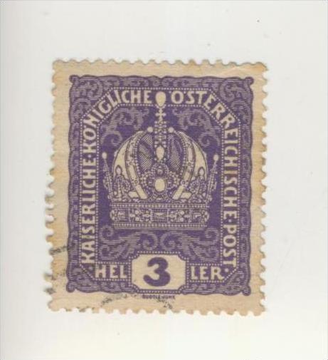 Österreich v. 1900   Kaiserliche Königliche Österreichische Post  3 Heller    (240)