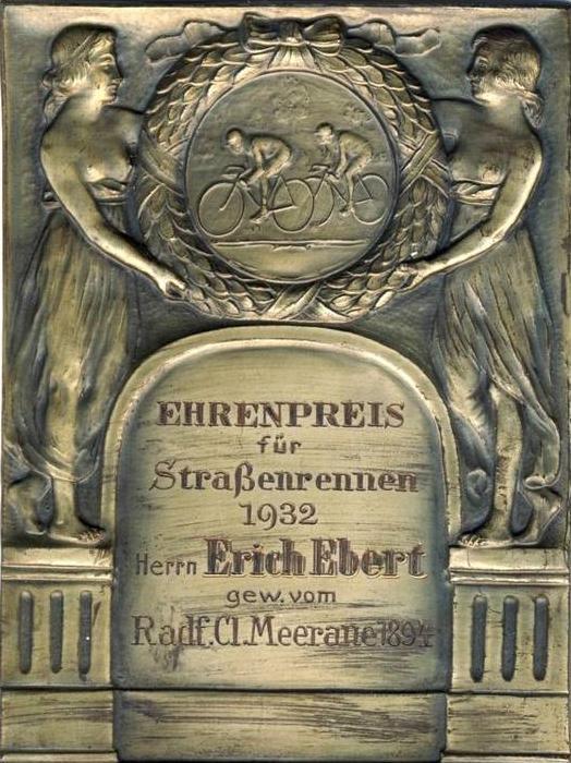 Meerane von 1932 Ehrenpreis - Strassenrennen --- sh. beschr. !!  (39003)