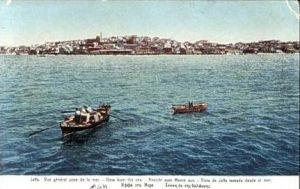 Jaffa v.1914 Stadtansicht vom Meeer (16302)