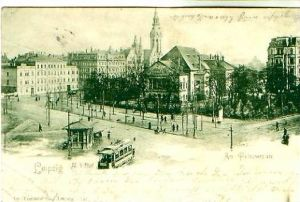 Leipzig v.1901 Am Fleischerplatz (21055)