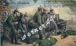 Deutsche Artillerie v.1916 Soldaten (2854)