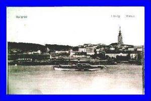 Belgrad v.1917 Teil-Stadt-Ansicht (1224)