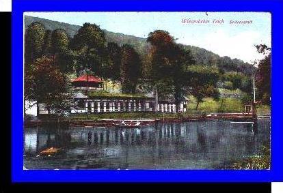 Wiesenbeker Teich v.1925 Badeanstalt (1421)