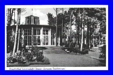 Ostseebad Timmendorfer Strand v. 1954  Seewasser Trinkbrunnen  (1705)