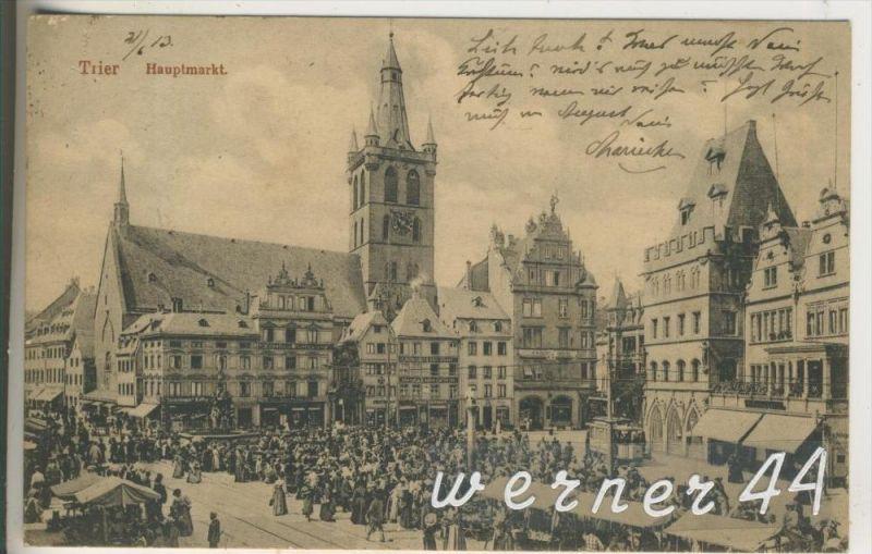 Trier v.1913 Tengelmann Kaffee,Garderobe Theodor ...