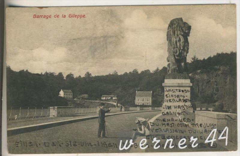 Barrage v.1906 Barrage de la Gileppe (9399-040)