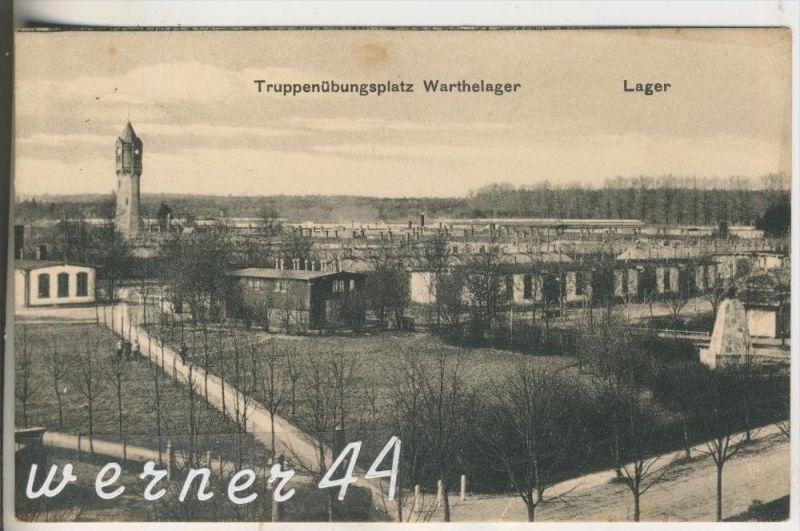 Warthelager v.1918 Lager & Turm (10090)