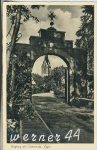 Lage b. Rieste v.1939  Eingang zur Commende  (11035)