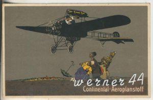 Hannover-Continental Caoutchouc - und Gutta-Percha-co. v.1915 Continental - Aeroplanstoff (11158)