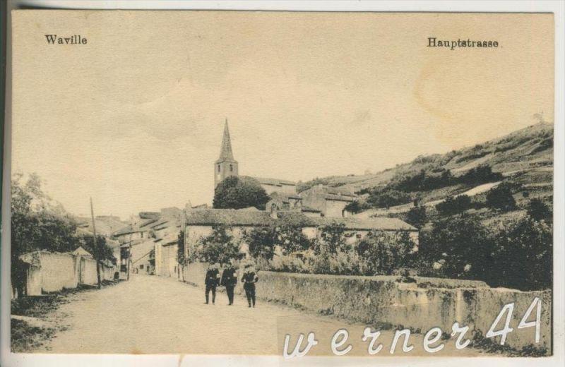 Waville v.1916  Die Hauptstrasse (16084)