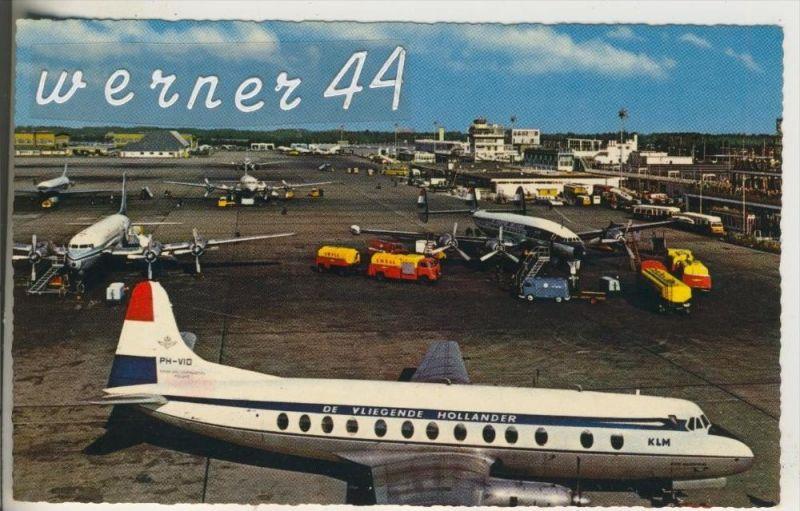 Schiphol v.1958 KLM -- De Vliegende Holländer (17231)