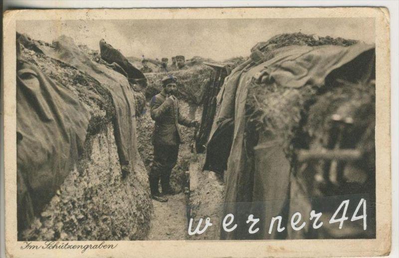 1. Weltkrieg v. 1915  Im Schützengraben  (46846)