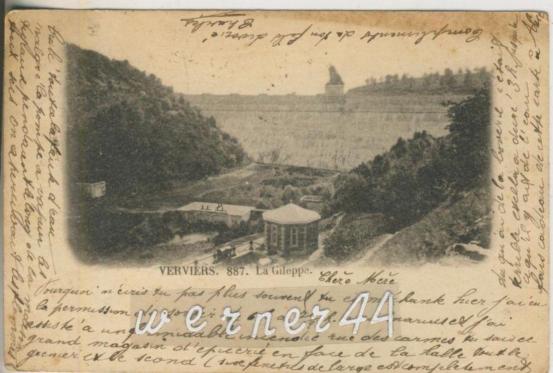 Verviers v. 1901  La Gileppe  (47020)