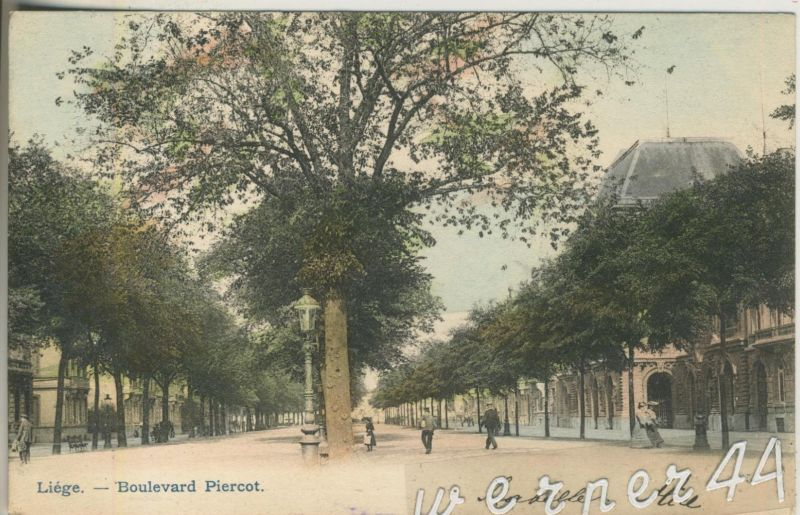 Liege v. 1904  Boulevard Piercot  (47022)