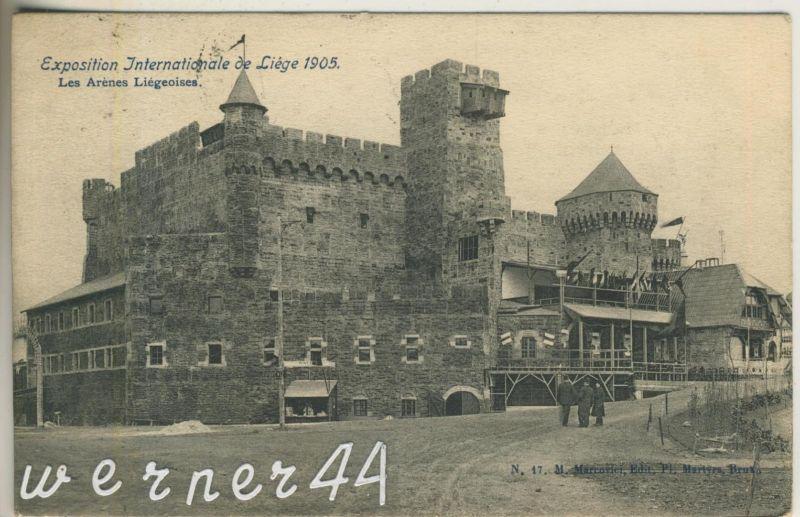 Liege v. 1905 Exposition Internationale de Liege 1905 -- Les Arenes Liegeoises  (47023)