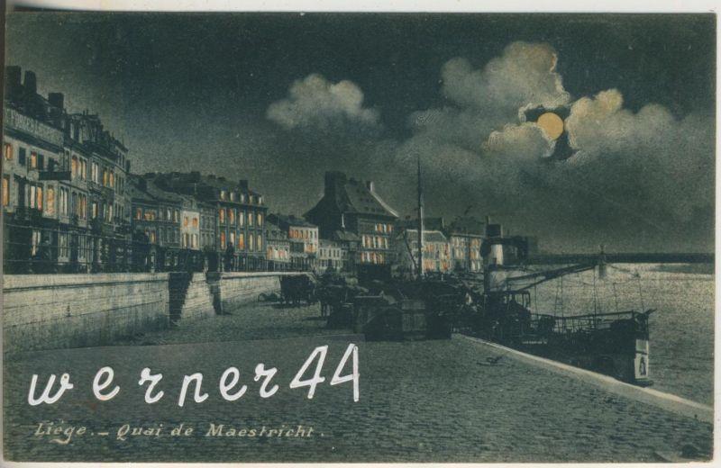 Liege v. 1907  Quai de Maestricht  (47025)