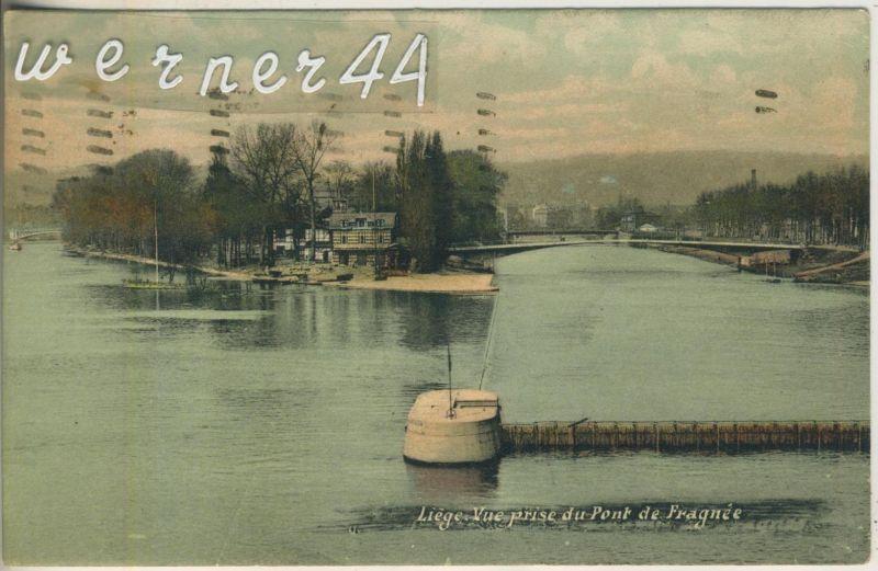 Liege v. 1908  Vue prise du Pont de Fragnee  (47026)
