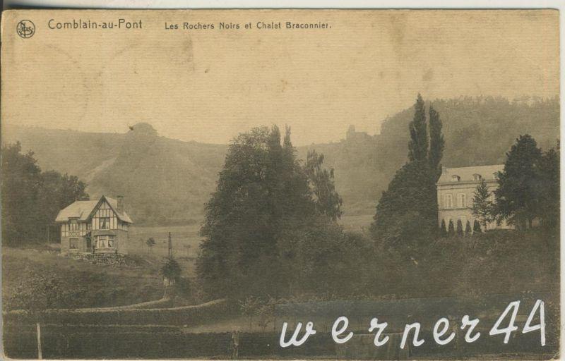 Comblain au Pont v. 1918 Wohnhaus und Challet Braconnier   (47182)