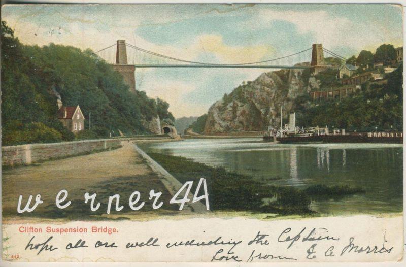 Clifton Suspension Bridge v. 1905  (47550)