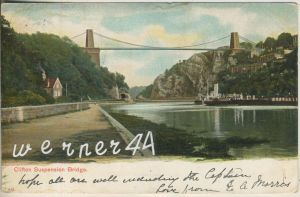 Clifton Suspension Bridge v. 1905  (47550)