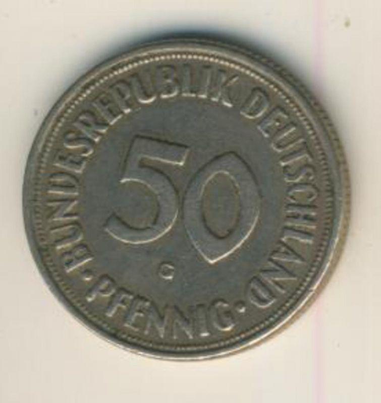 Deutschland v. 1950  50 Pfennig  (48041)
