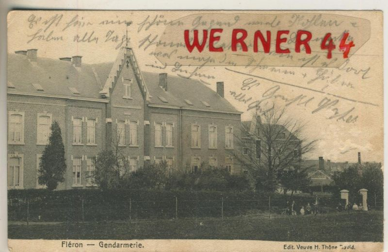 Fleron v. 1916  Gendarmerie  (47784)