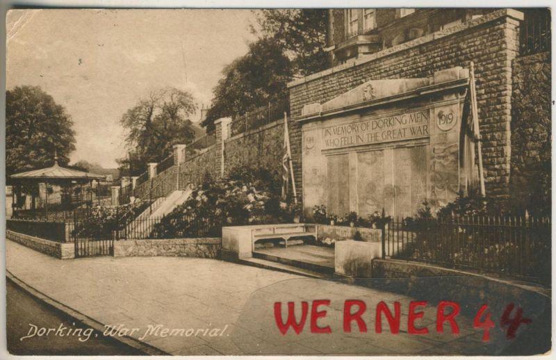 Dorking v. 1920  War Memorial  (48571)