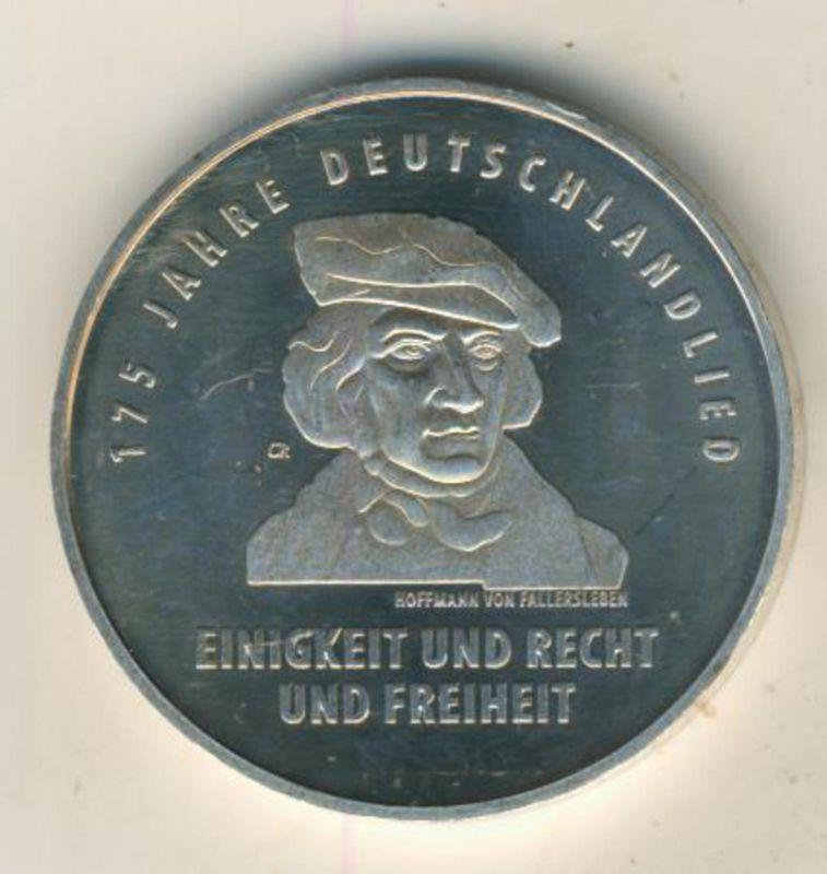 20 Euro Silbermünze 2016 bfr  175 Jahre Deutschlandlied   (48892)