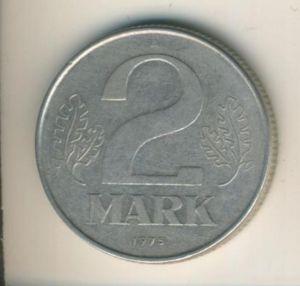 DDR v. 1975  2 Mark  (49014)