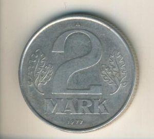 DDR v. 1977  2 Mark  (49160)