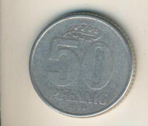 DDR v. 1958  50 Pfennig  (49167)