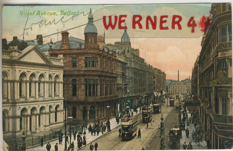 Belfast v. 1908  Royal Avenue  (49569)