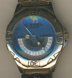 Camel Trophy Uhr mit Kompassanzeige  (Uhr 3)