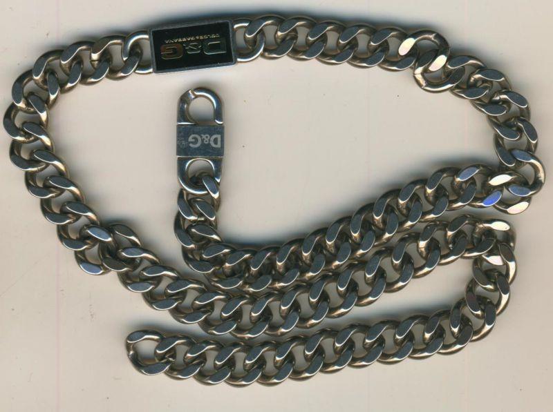 neueste e8913 ff165 D&G Dolce & Gabbana - Herrenkette
