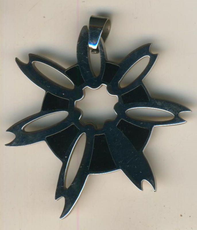 Herren-Anhänger aus Edelstahl, für eine Halskette  (Anh.1)