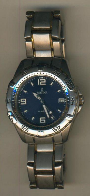 Damenuhr-Festina-Chronograph (Uhr-Da.1)