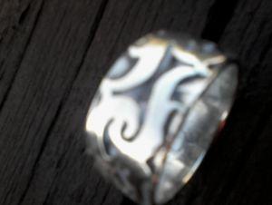Silber - Herrenring  (HR-5)