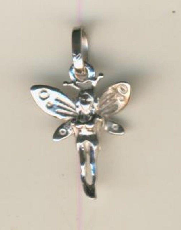 Silber-Engel als Anhänger (Engel2)