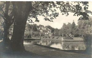 Hellbrunn v. 1930  Partie mit Schloß  (50799-8)