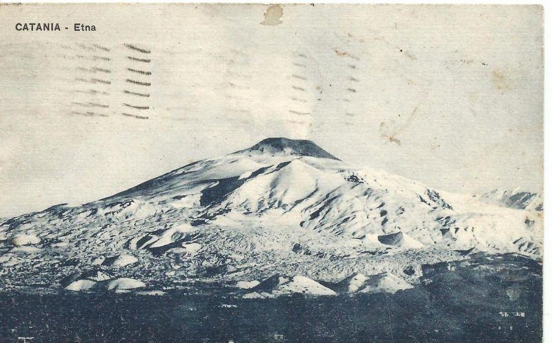 Catania v. 1930  Der Etna  (50898)