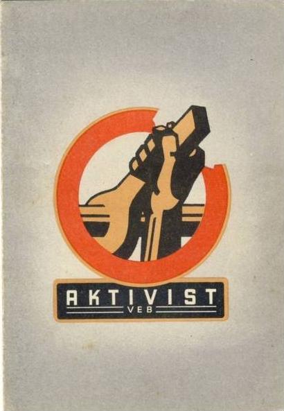 FDGB - AKTIVIST v. 1949 siehe Foto !! (34599-1)