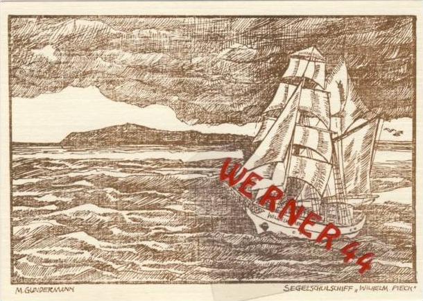 Warnemünde v. 1966 Segelschulschiff (23527)