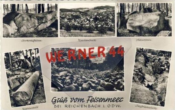 Reichenbach v. 1961 6 Ansichten (23548-30)