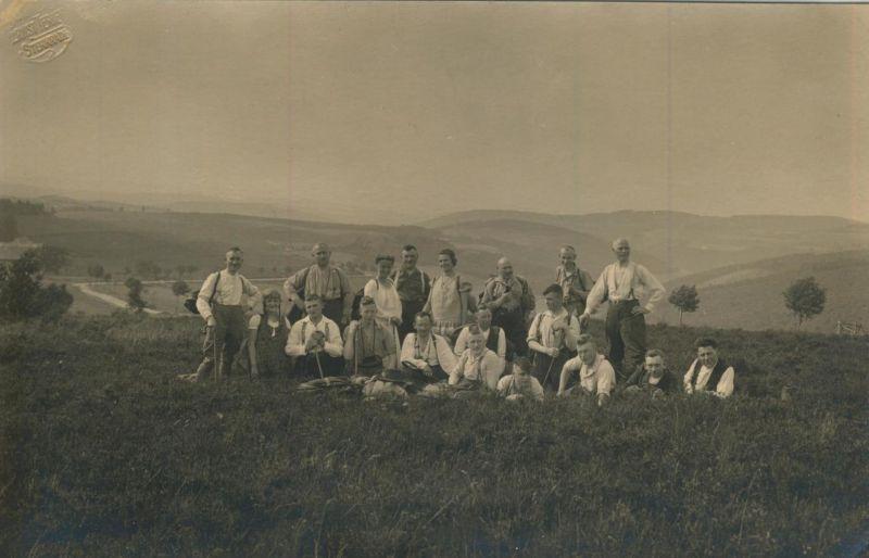 Sterkrade v. 1930  Teil-Gruppe des S.G.V. Ortsgruppe Sterkrade in den Bergen  (54228)
