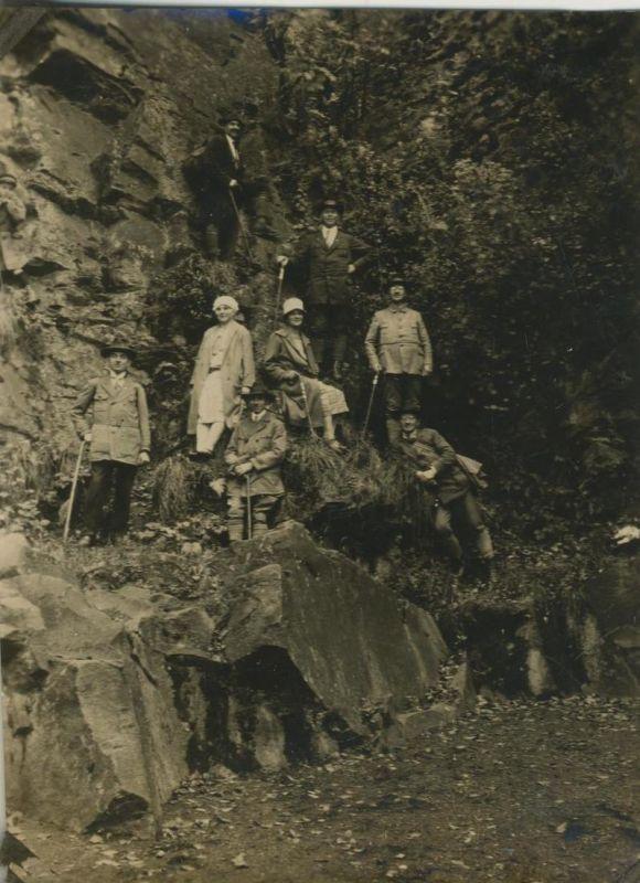 Sterkrade v. 1930  Teil-Gruppe des S.G.V. Ortsgruppe Sterkrade in den Bergen  (54229) 0