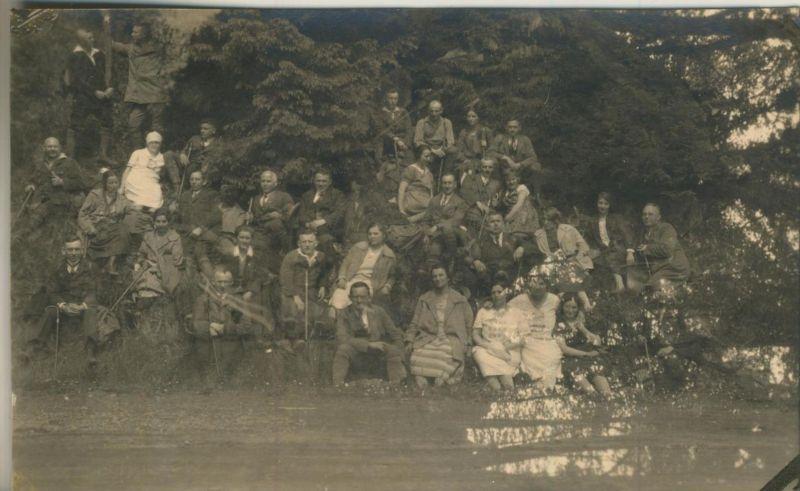 Sterkrade v. 1930  Gruppe des S.G.V. Ortsgruppe Sterkrade in den Bergen  (54230) 0