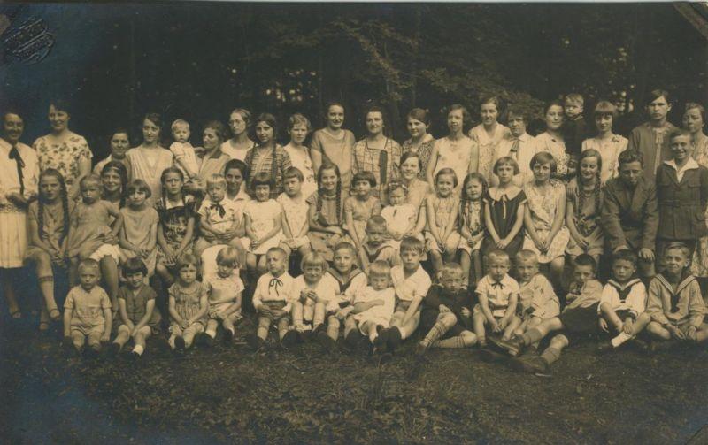 Sterkrade v. 1930  Gruppe des S.G.V. Ortsgruppe -- Das Waldfest-Kindergruppe  (54249)
