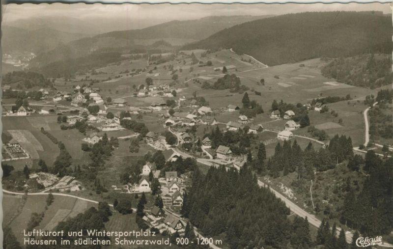 Häusern v. 1962  Luftaufnahme vom Dorf  (53596)
